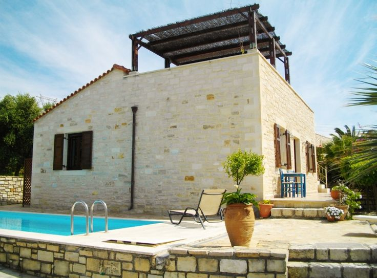 Stone built house for sale. Viran Episkopi, Rethymno, Crete, Greece.