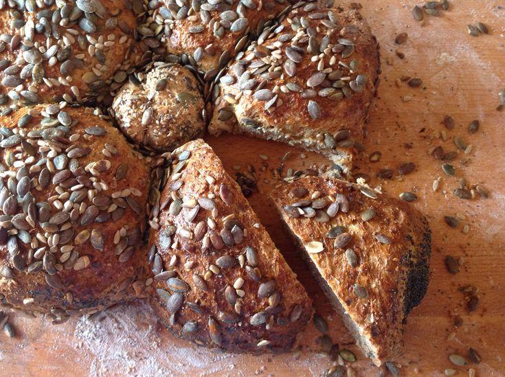 Pane con tutto il grano alla birra doppio malto