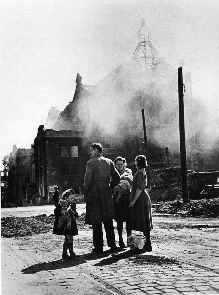 © Robert Capa.  Scene perhaps from Spanish Civil War.