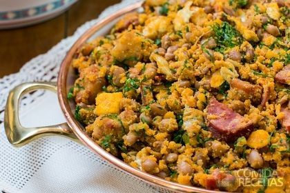Receita de Feijão da roça especial em receitas de legumes e verduras, veja essa e outras receitas aqui!