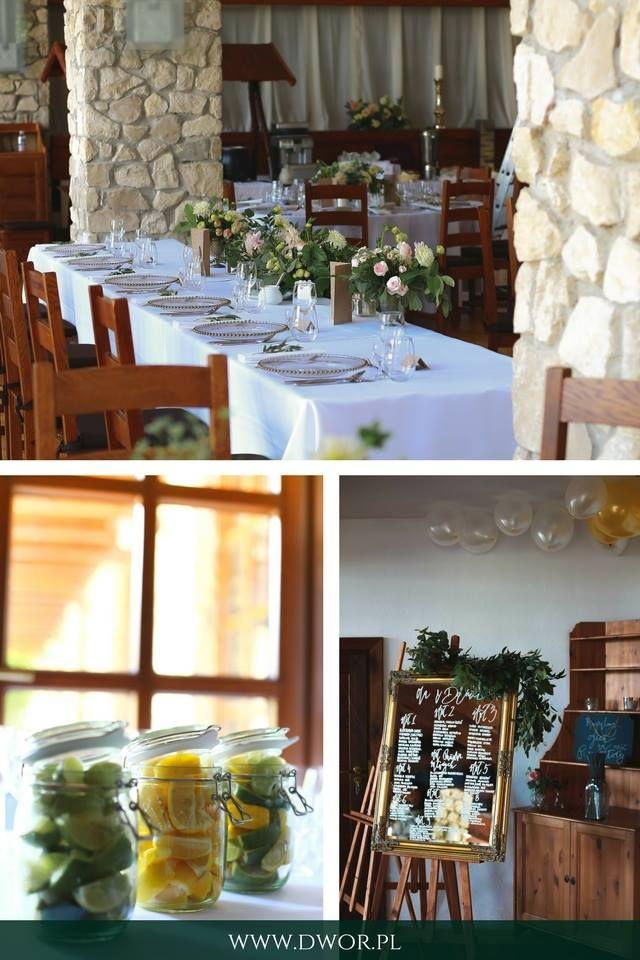 Dwór w Tomaszowicach - wesele / Tomaszowice Manor estate - wedding  #hotel #hotellife #wedding #weddingdecor  ------- www.dwor.pl