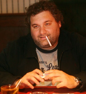 JESSICA GRIFFIN / STAFF PHOTOGRAPHER  Artie Lange , who attended the Springsteen concert Thursday at the Wells Fargo Center, will perform with his WIP sidekick Nick DiPaolo at the Tower Theatre in May.