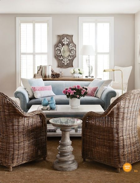 Halcyon Style: Delightful Design: Modern French Country