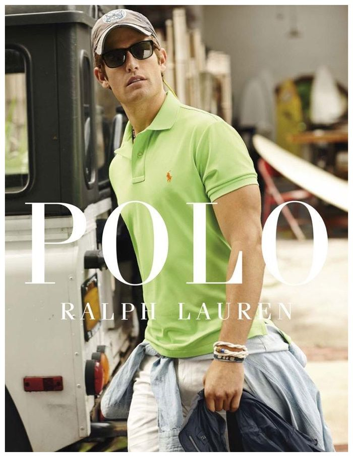 Models Justin Hopwood, Doug Pickett and James Norley reunite with Polo  Ralph Lauren for its cruise 2015 campaign. Connecting with fashion  photographer Arna