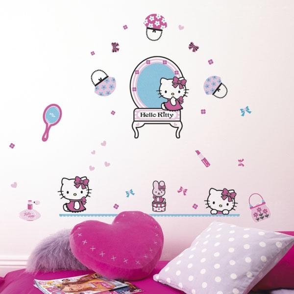 Hello Kitty Fashion superdecò | Stickers murali, Adesivi decorativi, Wall Stickers