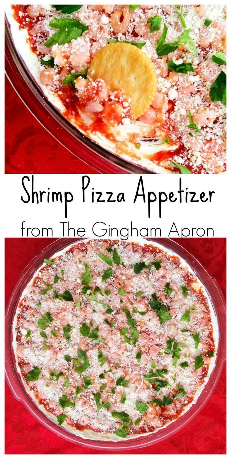 Shrimp Pizza Appetizer: Simple, Refreshing, and a Crowd Pleaser!