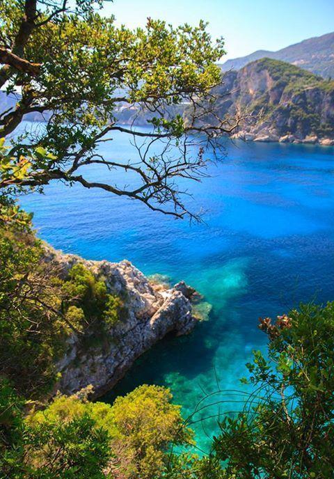 Incredible colors of #Corfu, #Greece.