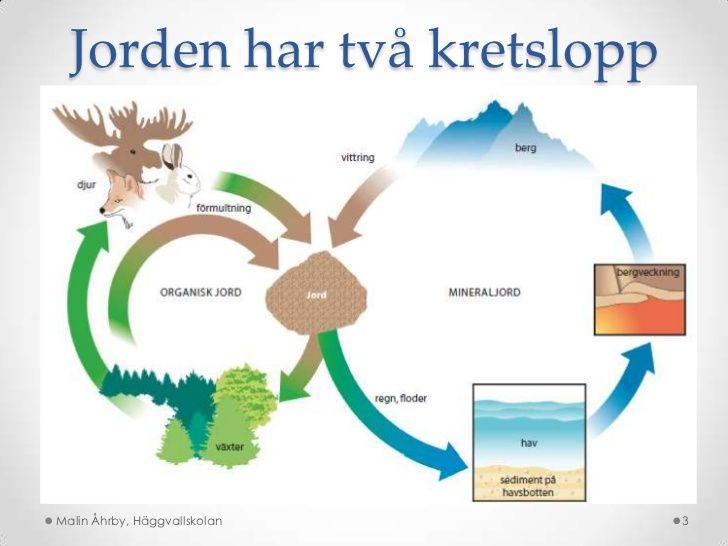 Jorden har två kretslopp<br />Malin Åhrby, Häggvallskolan<br />3<br />