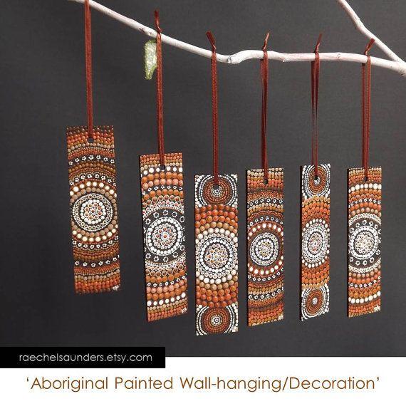 Aboriginal Art / Christmas Decoration / Brown by RaechelSaunders