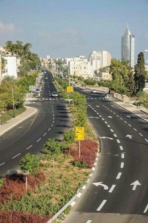 City of Haifa. It is the third largest city in  Yisra'el