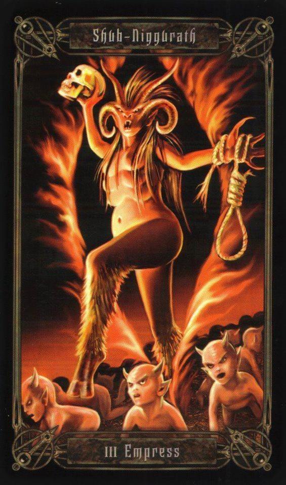 Shub Niggurath Goat 14 best Lovecra...