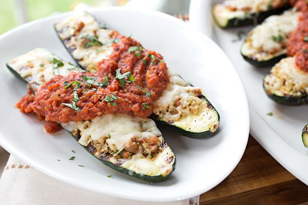 Cheesy Italian Grilled Zucchini Boats, and Floating Along On The Waters of Life post image