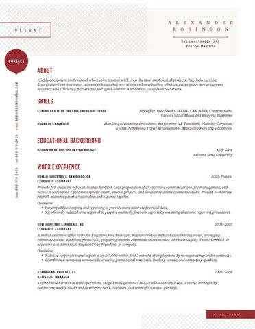 123 best Kreator CV images on Pinterest Resume, Curriculum and - detailed resume