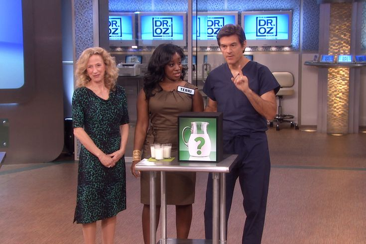 Coconut milk, Almond milk  Hemp milk (Source : A New Miracle Health Drink, The Doctor Oz Show)