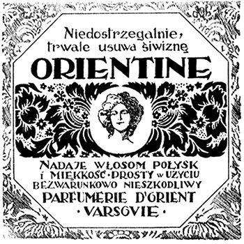 Retro REKLAMA - Orientine - 1923 rok