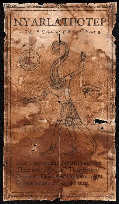 Graven Image of Nyarlathotep by JasonMcKittrick.deviantart.com on @deviantART
