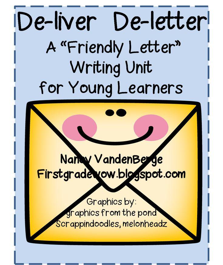 73 best WRITE~FRIENDLY LETTER images on Pinterest Education - friendly letter format