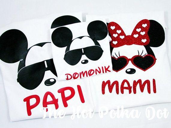 • Diseño ~ juego Cool Minnie / Mickey Mouse Disney camisetas de vacaciones para una familia de 4 (2 adultos y 2 jóvenes camisas de tamaño) • Camisa estilo ~ blanco Unisex camisetas Unisex adulto y juvenil Unisex - por favor, véanse los gráficos de tamaño para el tamaño y dejar necesarios al comprobar tamaños y nombres  ADULTOS TAMAÑOS DISPONIBLES CON ESTE LISTADO: FIT UNISEX - PEQUEÑO, MEDIANO, GRANDE, extra GRANDE (para TAMAÑOS más GRANDES, por favor envíe un mensaje con los tamaños nec...