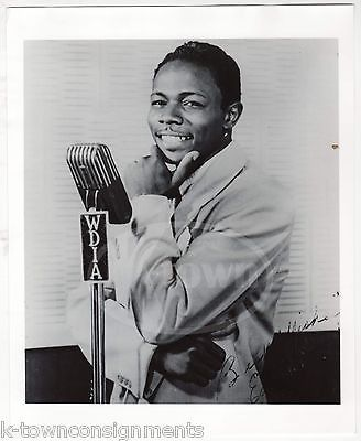 EARL FOREST MEMPHIS MUSIC SINGER VINTAGE FRANK DRIGGS COLLECTION MUSIC PHOTO (2)