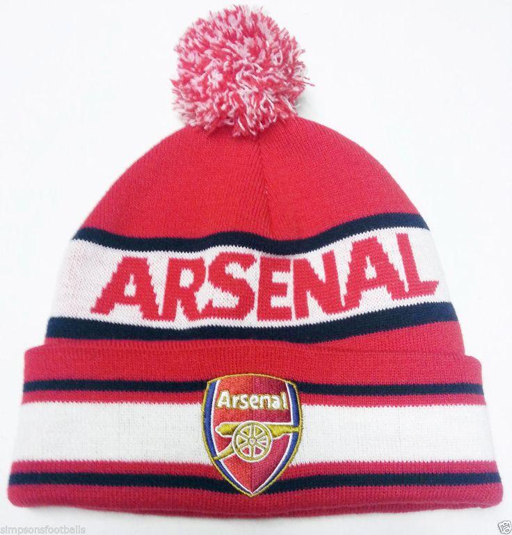 Arsenal Hats Bobble Arsenal FC Hat Thicker Warmer Than Average Hats