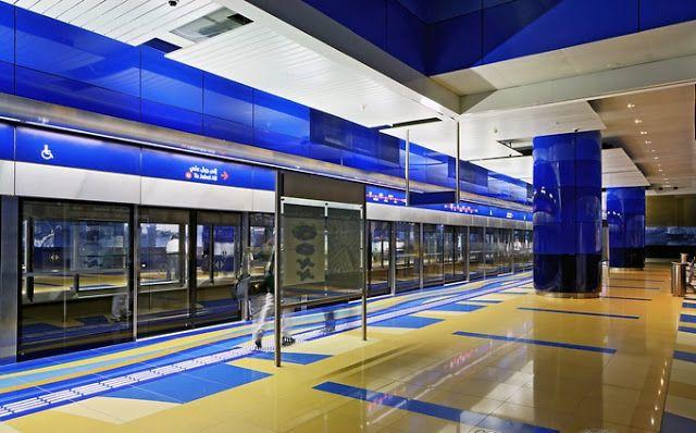 Estación Burjuman - Dubai
