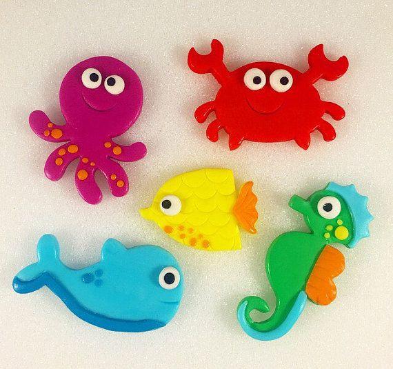 Fondant Sea Animals Fondant Sea Creatures by ...