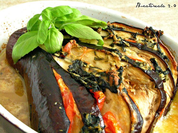 Bucatareala 2.0: Evantai de vinete cu rosii si mozzarella