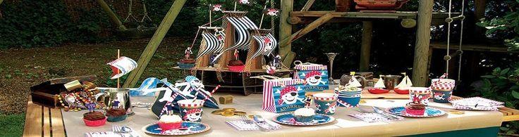 Festa a tema Pirati, addobbi ed accessori, feste compleanno - Palaparty S.r.l.
