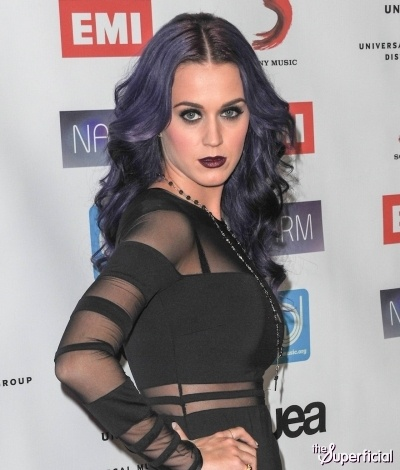 "KATY PERRY ""Goth Look"" NARM Music Biz Awards"