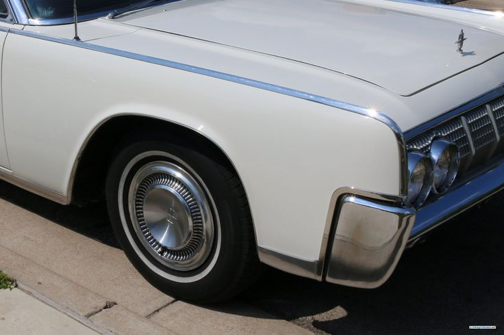 1964 Lincoln Continental. As shown at the August 2014 Leander Car Show, in Austin TX USA.