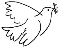 Vredesduif - Laten we deze duif de wereld over laten gaan
