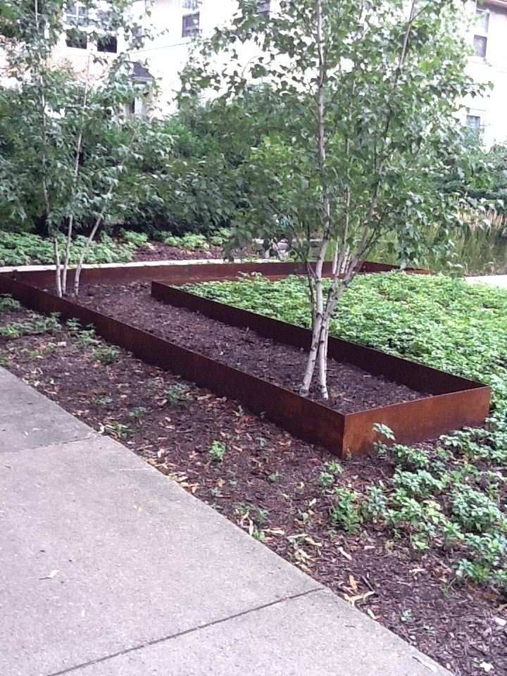 25 best images about yard ideas on pinterest cable for Metal garden border