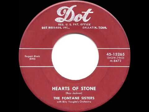1955 HITS ARCHIVE: Hearts Of Stone - Charms (Otis Williams) - YouTube