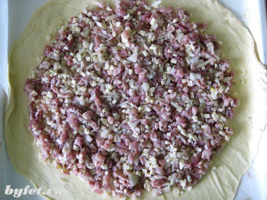 Пирог со свининой и картофелем | БУФЕТ - рецепты с фото