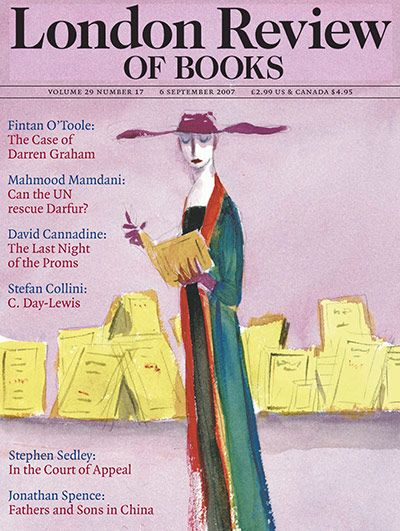 Peter Campbells London Review of Books covers