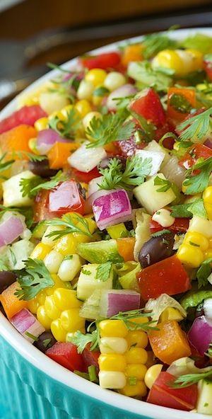 Mexican Chopped Salad | Bake a Bite