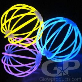 Glow Stick Glow Craft Pack - Single Colors - Make a variety of fun glow crafts! https://glowproducts.com/us/glow-craft-connector-kit-single-colors