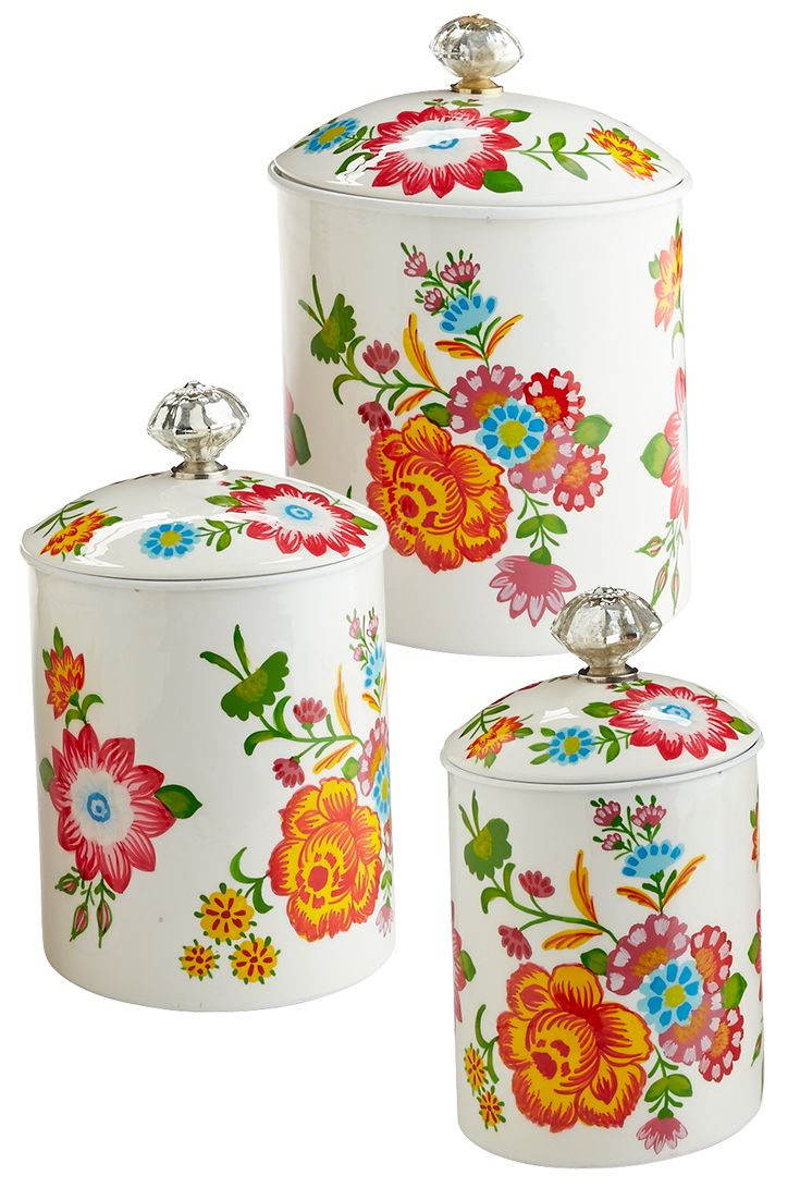 75 best Canisters images on Pinterest | Kitchen ideas, Country ...