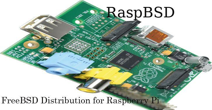 RaspBSD – FreeBSD distribution for Raspberry Pi