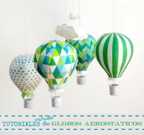 Tutoriales varios de globos aerostáticos
