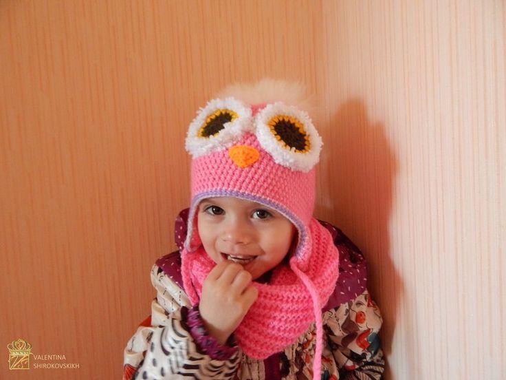 ручной knitted/crochet шапочка и шарф. розовый для девочки шапка и шарф / комплект in Одежда, обувь и аксессуары, Одежда для малышей, Одежда для девочек (новорожденные-5Т)   eBay