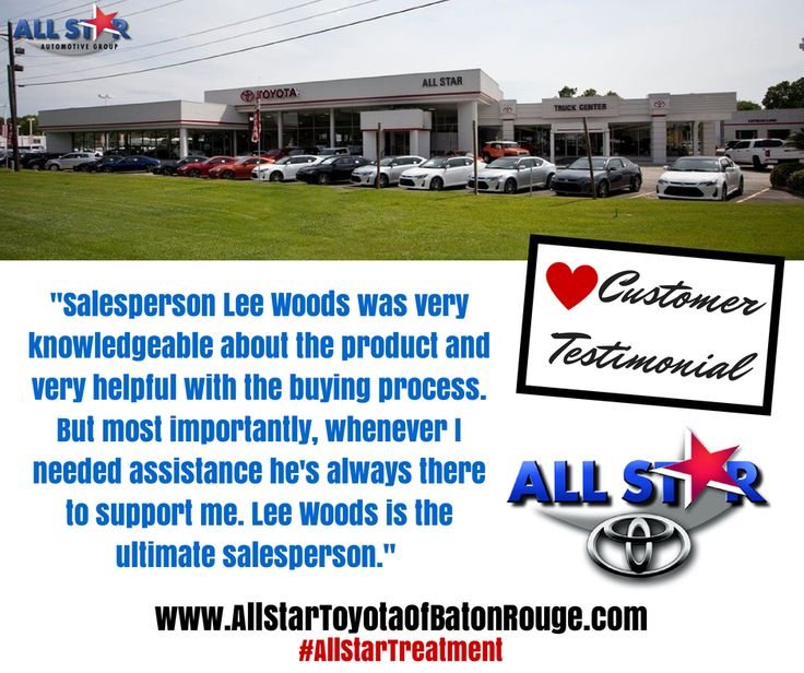 Captivating #AllStarTreatment Only At All Star Toyota Of Baton Rouge  Www.allstartoyotaofbatonrouge.com