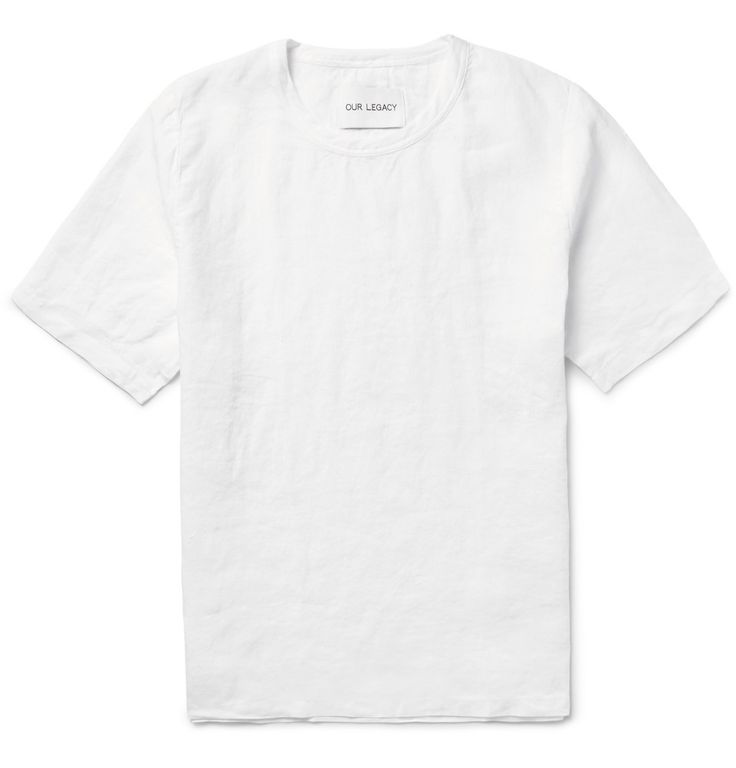 LINEN T-SHIRT OUR LEGACY