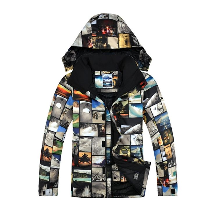 103.94$  Buy here - http://aliz6b.worldwells.pw/go.php?t=32791227129 - Brand Gsou Snow Ski Jacket Snowboard Jacket Men Winter Sport 2016 Warm Mountain Skiing Clothing Ski Jacke Herren Esqui 103.94$