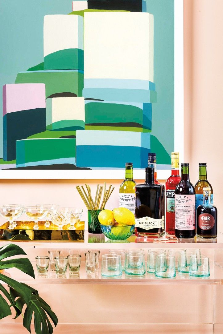 8 Home Bars & Carts That Will Inspire Your Inner Interior Designer   www.barstoolsfurniture.com