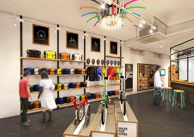 ロンドン発・折りたたみ自転車ブランド「ブロンプトン」が東京に上陸 - 代官山に2号店がオープンの写真2