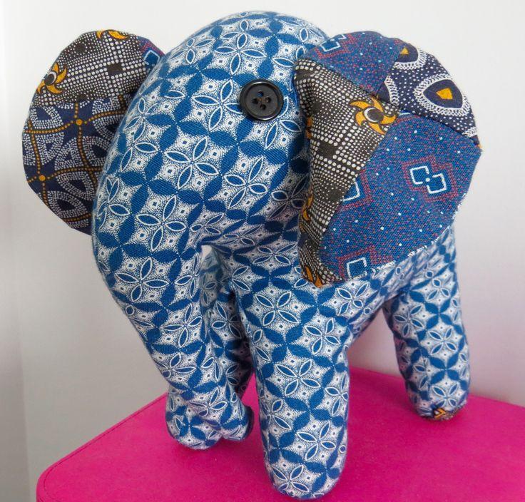 Elephant Stuffy from Botswana
