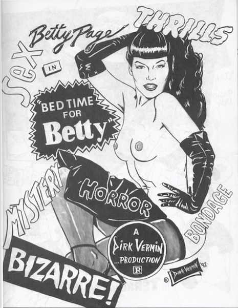 NSFW: Bettie Page fetish comic is a dirty, funny romp through 20th century pop culture | Dangerous Minds