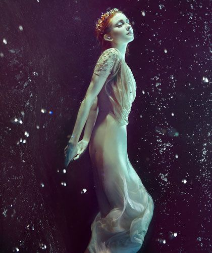 "The Look: ""The Birth of Aphrodite"" by Zena Holloway for B.Inspired magazine #6."