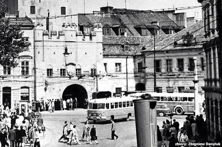 Brama Krakowska lata 60. XX w.